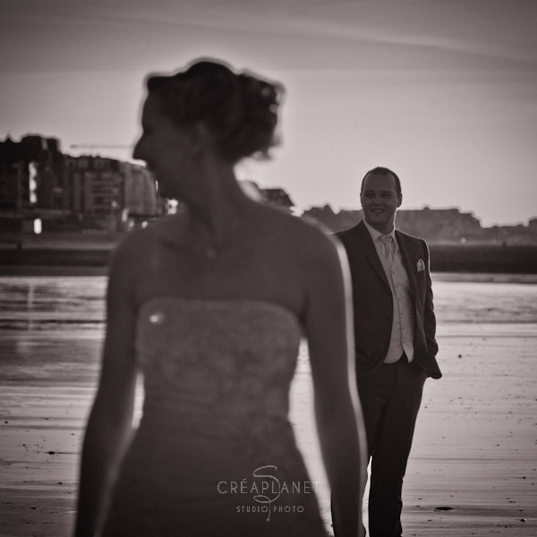 Couples à la plage - Photographes de Caen